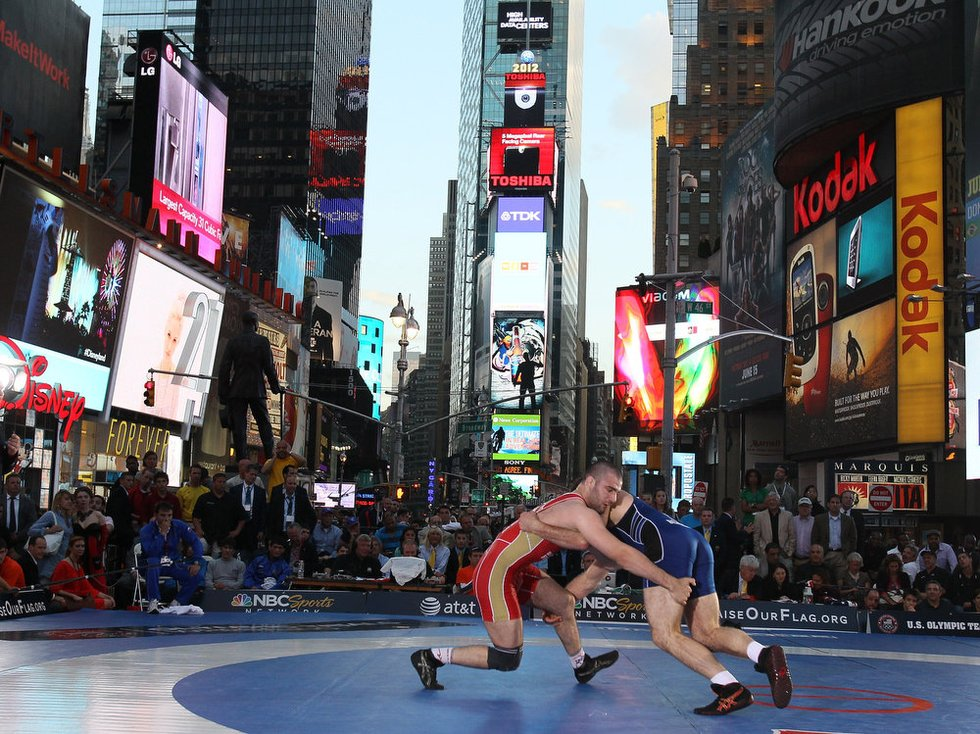 Beat the Streets - Wrestling in Time Square